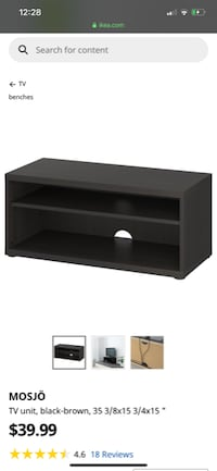 Tv stand (ikea) with free Blu-ray player