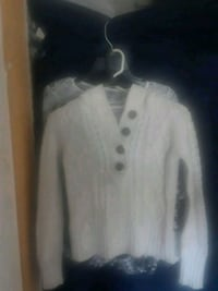 white and gray button-up jacket Grand Junction, 81506