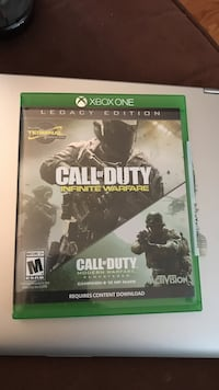 Call of duty infinite warfare xbox one game and case