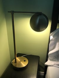 Gold bedside table lamp New Orleans, 70115