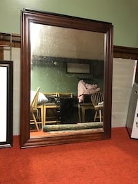 Large Mirror - Wooden Frame Colchester, 06415