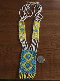 Beaded necklace Bluemont, 20135