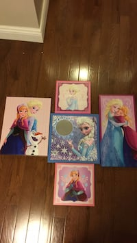Disney Frozen Wall Art / Pictures Mississauga, L4Z 0B4
