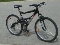 """LIKE NEW & BARELY USED ALL ALUMINUM 26"""" RALEIGH TORA 21 SPEED + DUAL SUSPENSION! Mississauga"""