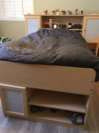 Twin bed frame with storage San Jose, 95127