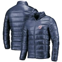 black The North Face zip-up bubble jacket Arlington, 22204