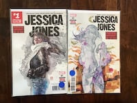 Jessica Jones comics #1 & #2. Excellent condition. Bagged and boarded. Calgary, T3M