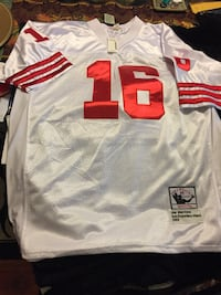 white and red NFL jersey Springfield, 01108