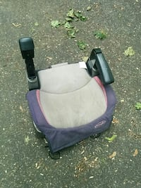 baby's grey and purple Evenflo booster seat Stoneham, 02180