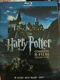 Harry Potter complete 8-film collection blu-ray di