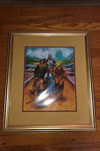 Signed wizard of oz photo