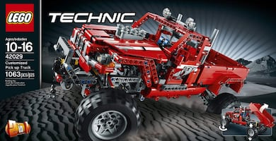 Lego Technic Customized Pick Up Truck