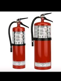 Fire extinguishers for home or  business Toronto, M9P 2R8
