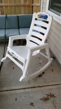 Outdoor rocking chair qty 2