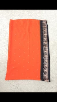 Orange and black large shawl North Chesterfield, 23225