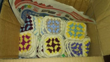 Quilt patches homemade