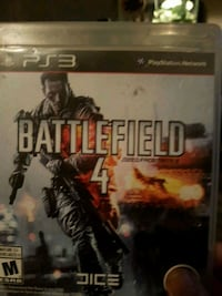 Battlefield 4 PS3 game case Dartmouth, B3A 4C5