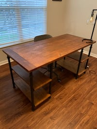 Home Office Desk and Rolling Chair