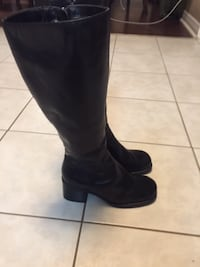 leather boots from call it spring size 8 St Catharines