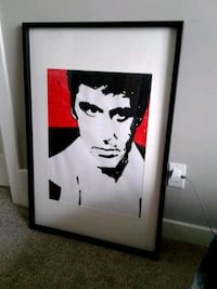 Framed Scarface Painting  Fort Saskatchewan, T8L 0E7