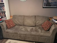 Micro fibre love seat and couch BURLINGTON