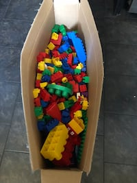Huge box of duplo and some mega blocks  St Albert, T8N 2P7