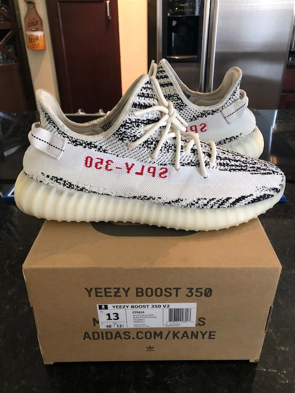 0f42cab57 Used Yeezy 350 Zebra for sale in Fort Worth - letgo