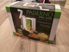 Paderno Spiral Slicer (Spiralizer) with 3 Blades