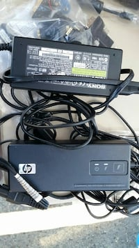 two black HP AC adapters Dana Point, 92629