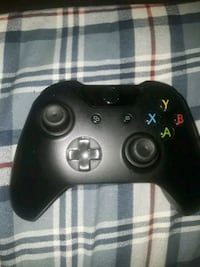 black Xbox One wireless controller Falls Church, 22046