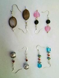 assorted pairs of earrings lot Miami Beach, 33139