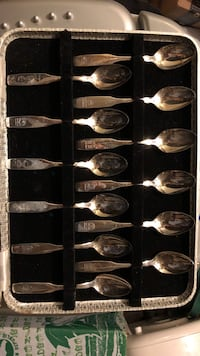 Souvenir spoons silver or stainless still Richmond Hill, L4S