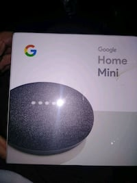 New unopened Google Home Mini Personal assistant 2248 mi