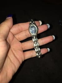 silver-colored analog watch with link bracelet Costa Mesa, 92627