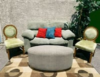 Green love seat with chairs set Las Vegas, 89104