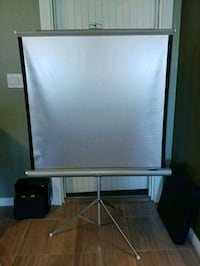 40 x 40 projector screen Donna, 78537