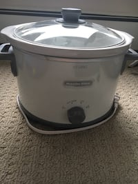 white and gray Rival slow cooker Calgary, T2E 0L9
