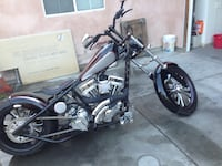 black and gray cruiser motorcycle Los Angeles, 90012