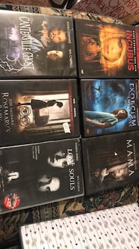 six assorted DVD movie cases Somerset, 42501
