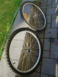 2 -26Inch Front Bicycle Wheels/Tires & Tubes