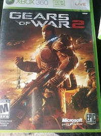 Xbox One Gears of War 3 game case Nampa, 83686