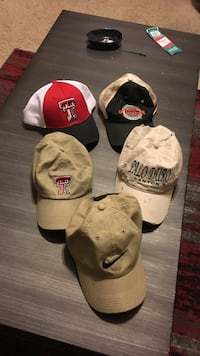 Nike and Texas Tech hats (each) Lubbock, 79401