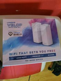 Linksys Velop whole home mesh