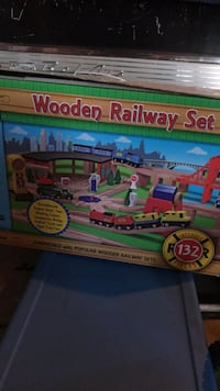 300 + Piece wooden train set with train table.   Santa Rosa, 95403