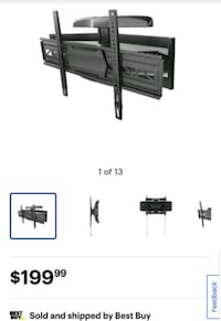 BOXING WEEK SALE TV WALL MOUNT, FULL MOTION WALL MOUNT FROM $30