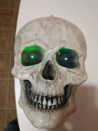 New large skull head lights up change colors  Chatham-Kent