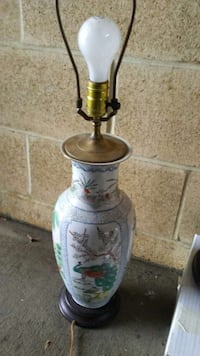 Asian decorative lamp. Lampshade included