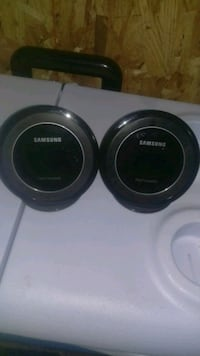 two Samsung wireless charging pad stands Missouri City, 77459