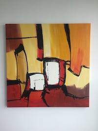 Oil painting abstract Toronto, M4Y 1T5