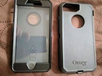 silver iPhone 6 with case Huntington Beach, 92647